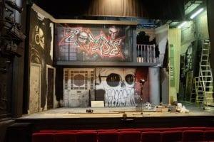 'The Duck House' set at Duchess Theatre in London's West End © Chris & Liz Clark