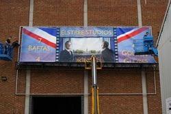 The Kings Speech Banner for Elstree Studios © Chris & Liz Clark